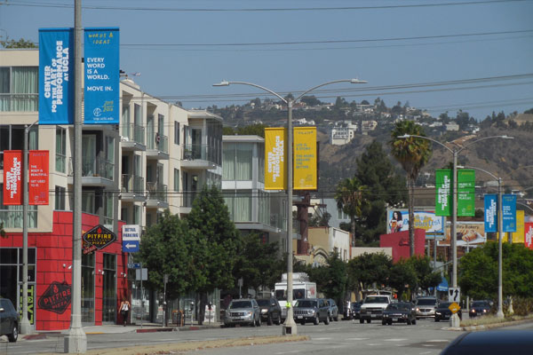 UCLA performing arts outdoor advertising in LA