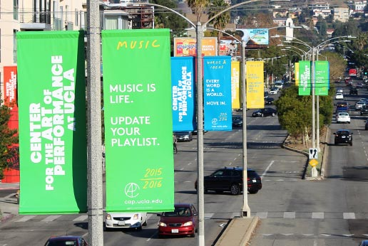 UCLA outdoor advertising campaign by agmedia