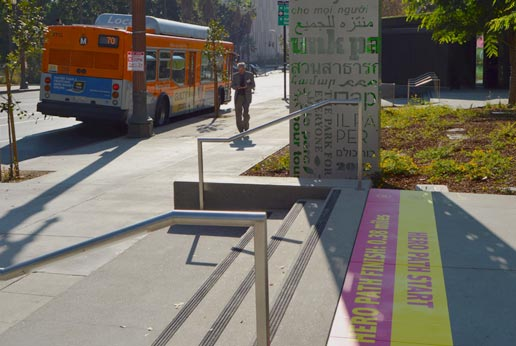 grand park la sidewalk graphics by agmedia