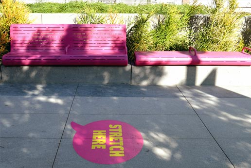 sidewalk stickers for grand park la