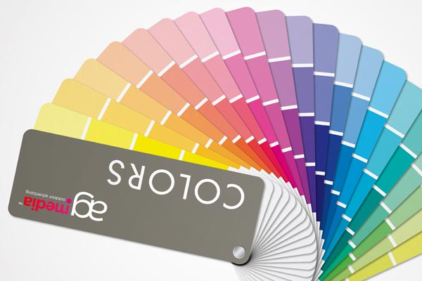 outdoor advertising colors