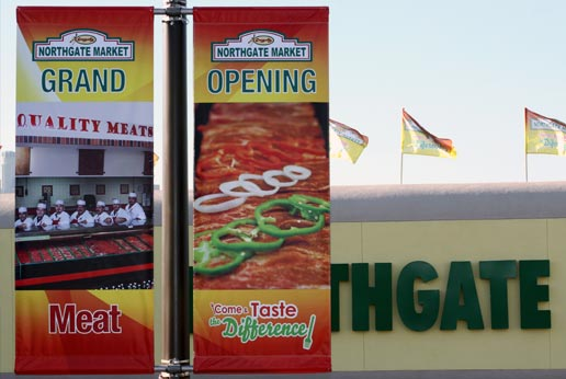 effective outdoor advertising for northgate markets