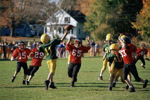 Outdoor media for sports and teams