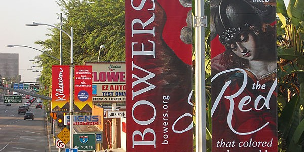 outdoor advertising for cultural events and arts